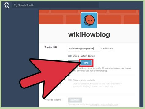 How To Change Your Tumblr Name 9 Steps (with Pictures