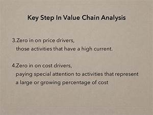 Chapter 3 competitive advantage the value chain and your p&l