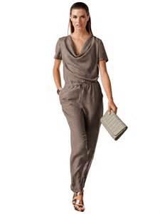 combinaison pantalon femme mariage combinaison tenue de mariage col benitier soie les cadeaux d 39 helline fr