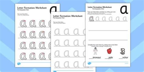 letter formation worksheets polish translation