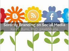 Sorority Branding on Social Media by ksburns71