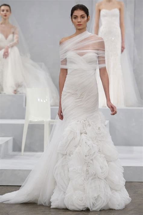 Monique Lhuillier Spring 2015 Bridal Collection  Preowned