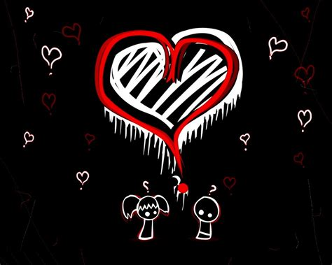 Emo Love Wallpaper Emo Love Wallpaper 12230758 Fanpop