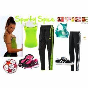 Sporty Spice Outfits | Tee-rtiary | Pinterest | Boho grunge Sporty and Girls rules