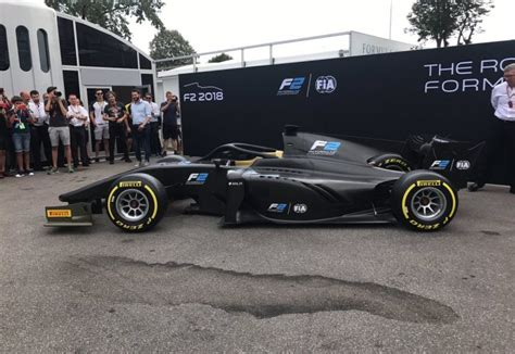 formula  unveils halo equipped  car  monza