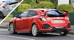 Honda Civic 2019 : 2019 honda civic type r facelift spied with new bumpers and both small and large rear wing ~ Medecine-chirurgie-esthetiques.com Avis de Voitures