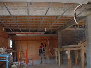 Pose Rail Placo Plafond : placo plafond dfc les artisans de la construction 34 ~ Dailycaller-alerts.com Idées de Décoration