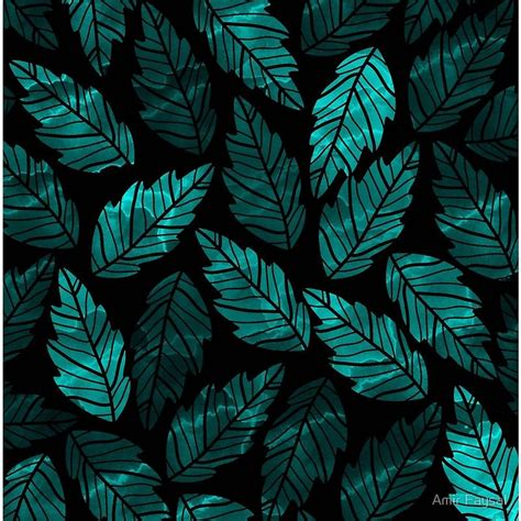 green leaves art board print  images green
