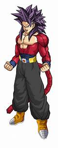 Trunks SSJ4 by HDDragonBallAFHD on DeviantArt