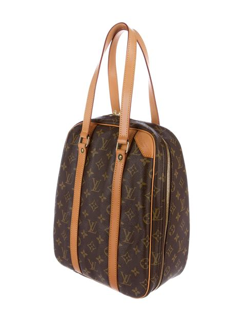louis vuitton monogram excursion shoe bag handbags lou  realreal