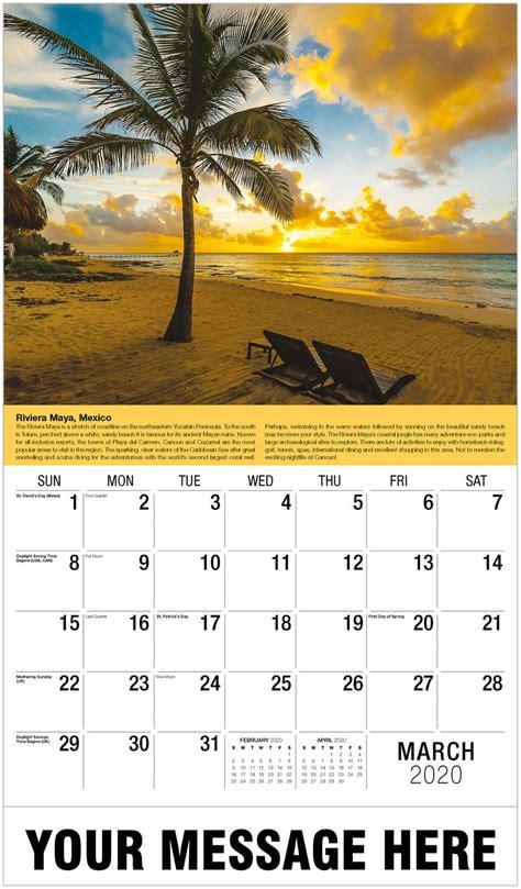 travel destinations world business promo calendar