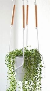 Makramee Blumenampel Diy : edle diy makramee blumenampel mit kupferrohr diy ideas plant hangers and hanger ~ Heinz-duthel.com Haus und Dekorationen
