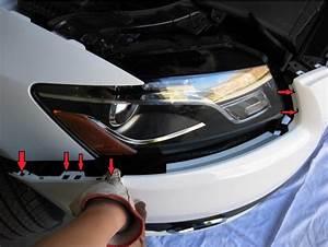 Audi Q5 Light Removal Audi Q5 Front Bumper Removal
