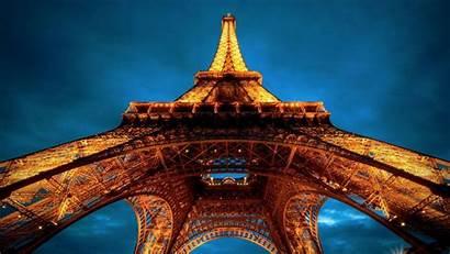Eiffel Tower Paris Wonders Wallpapers France Lights