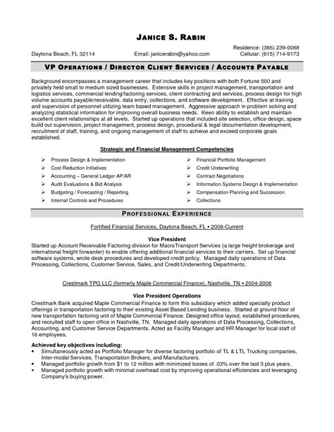 client services manager resume