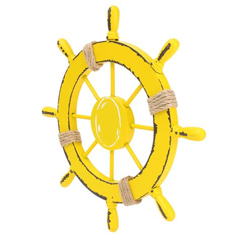Boat Steering Wheel Home Decor by Nautical Wooden Pirate Marine Boat Ship Steering Wheel