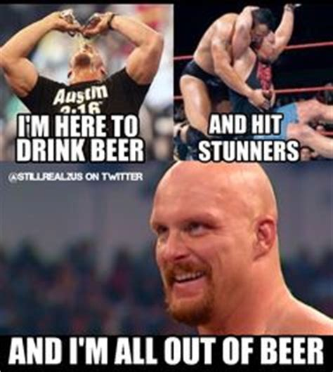Stone Cold Meme - beer memes skeptical stone cold sippin pinterest beer meme and stones