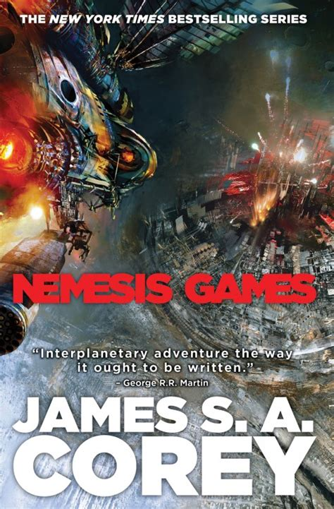 cover art  nemesis games  james sa corey