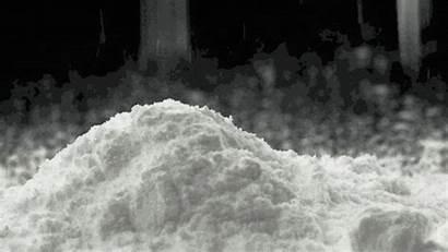 Powder Caffeine Falling Gifs Powdered Giphy Pure