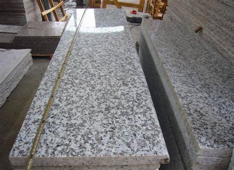 custom g439 grey granite stair treads and risers prices