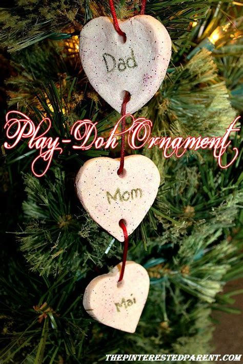 play dough ornaments the pinterested parent