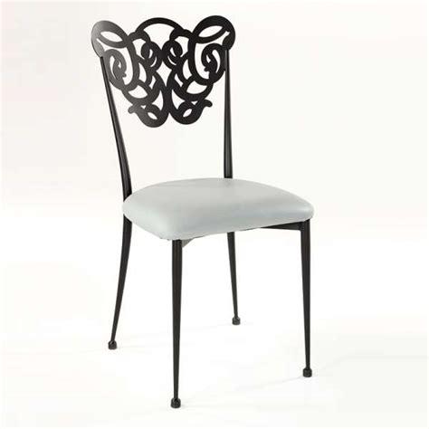 chaise en fer chaise en fer forgé milos 4 pieds tables chaises et
