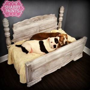 upcycled pet beds transformed with shabby paints shabby With best dog bed for pitbull