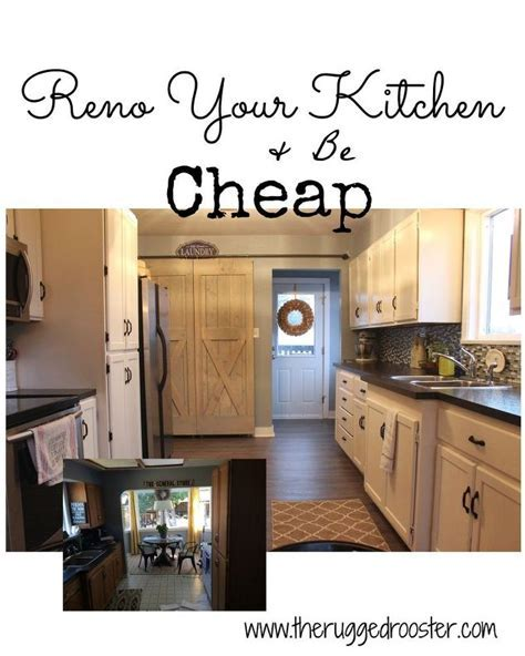 Farmhouse Kitchen Reno for CHEAP   Hometalk