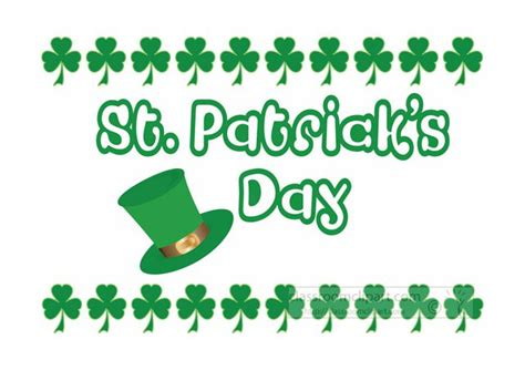 9 Places To Find Free St. Patrick's Day Clip Art