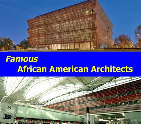 american architects profiles in architecture and design famous modern african american architects