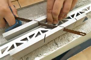 installing ceramic tile backsplash in kitchen installing tile edging howtospecialist how to build step by step diy plans