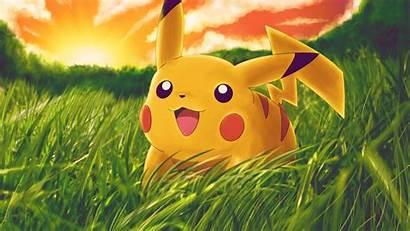 Pikachu Pokemon Raichu Wallpapers Hintergrund Poka Mon