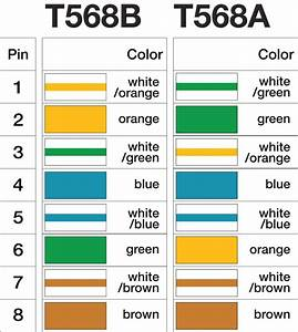 T568b Wiring Diagram  U2013 Volovets Info