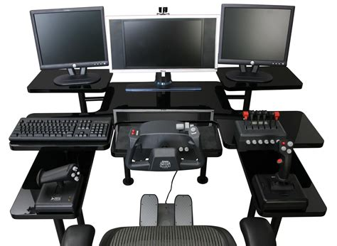 ordi de bureau hp dedicated gaming table is for the serious gamer coolest toys