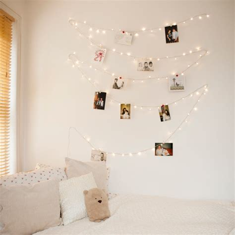 indoor bedroom living room warm white led fairy lights