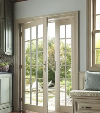 milgard patio doors with blinds exterior frame