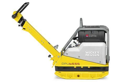wacker dpuhec reversible plate compactor