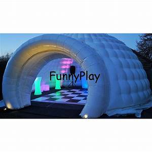Group Communication Inflatable Igloo Air Dome Tent Event Buildings For Party
