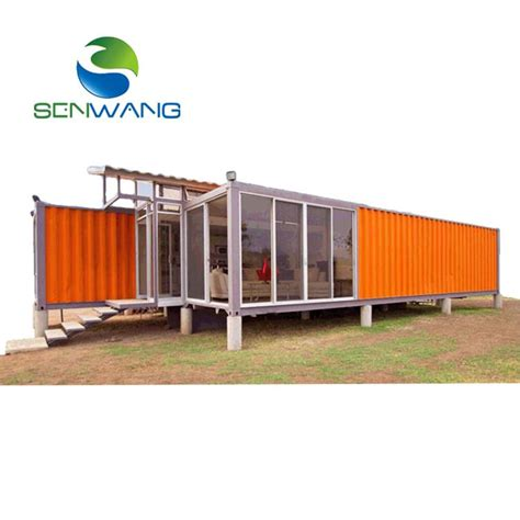 container housing manufacturers newest design 40ft sandwich panel steel container house