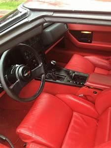 1986 Corvette Interior