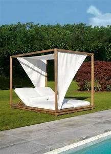 Lit D Extérieur : lit de jardin moderne quelques id es inspirantes ~ Teatrodelosmanantiales.com Idées de Décoration