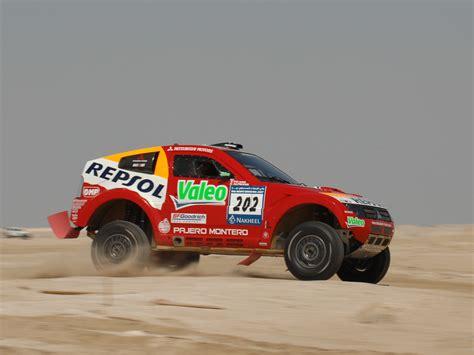 mitsubishi pajero dakar 2007 mitsubishi pajero montero evolution mpr13 dakar race