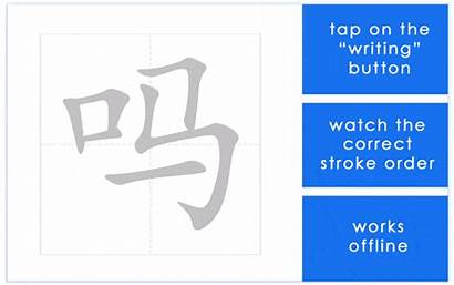 Chinese Characters Stroke Write Learn Written Ways