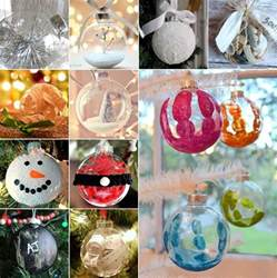 15 creative clear ball christmas ornament ideas