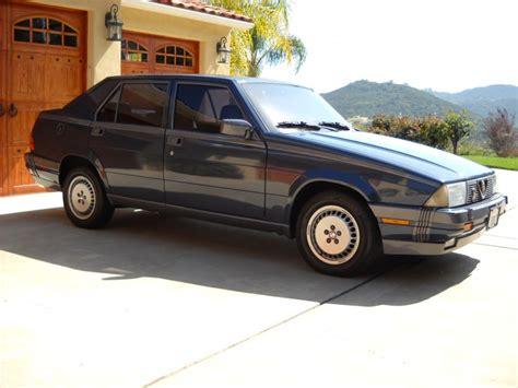 Alfa Romeo Milano (gold) 1987  Escondido 92082 Valley
