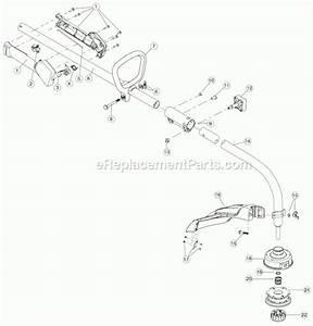 Troy Bilt Trimmer Parts Diagram