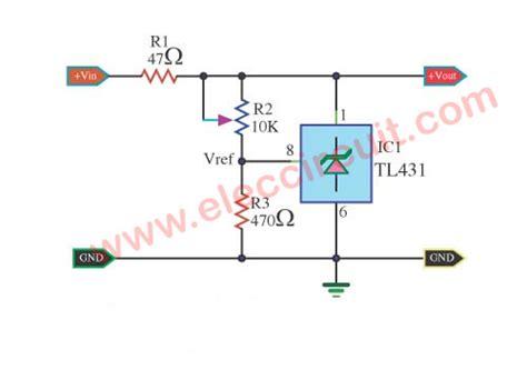 Circuit Adjustable Shunt Zener Regulator