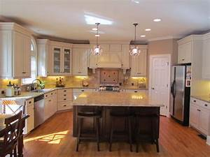 shenandoah mckinley maple hazelnut hironimus With kitchen cabinets lowes with purple and gold wall art