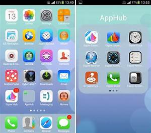 Ios 7 launcher android