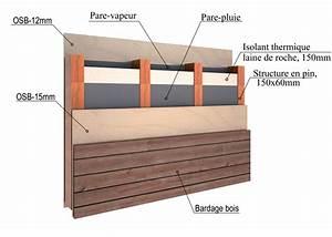Epaisseur Mur Ossature Bois : ossature bois ~ Melissatoandfro.com Idées de Décoration